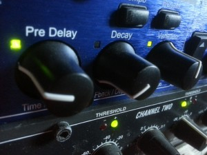 Sound Travels Studio outboard gear