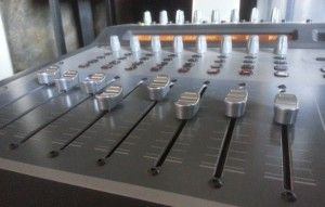 Sound Travels Studio control surface