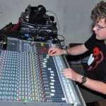 John mixing on Allen & Heath GL3 *PW