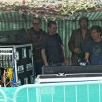 With John Langan & crew, Eden Festival